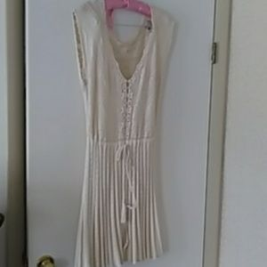 Vintage cotton crochet dress